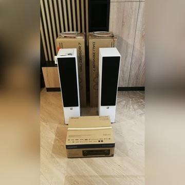 Kolumny Dali Zensor 7 + amplituner Denon Avr-x1400
