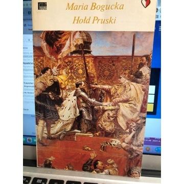 """,, Hołd pruski"""" Maria Bogucka"""