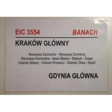 Tablica relacyjna EIC Banach PKP IC Intercity
