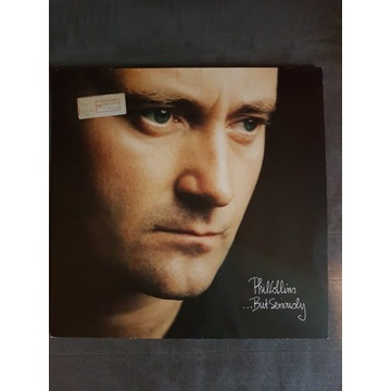 Phil Collins.-But Seriously- lp vinyl