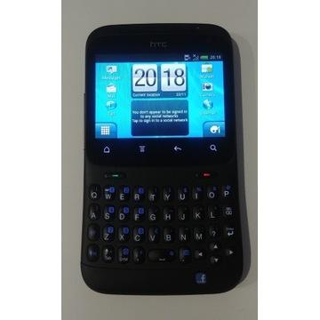 Smartfon HTC CHA CHA- czarny, stan prawie idealny