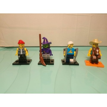 Lego Minifigurki Seria 10 + 14