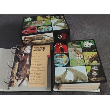 Encyklopedia zwierząt od A do Z 3 segregatory