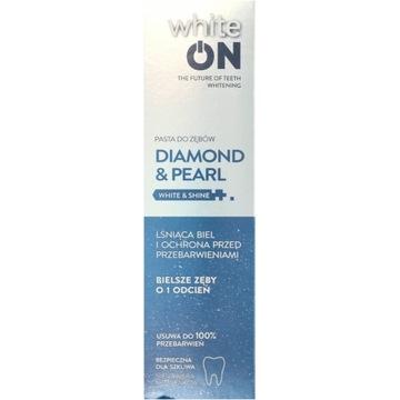 White On diamond &pearl pasta do zębów -50%