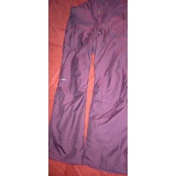 Spodnie damskie snowboard Wedze Decathlon roz. S
