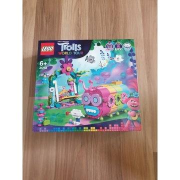 LEGO Klocki Trolls Tęczowy Gąsienicowóz 41256