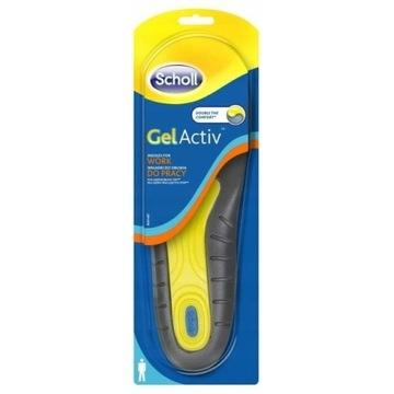 Scholl wkładki do obuwia do pracy (męskie)GelActiv