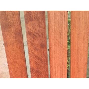 Listwy na pokłady jachtowe z drewna teak