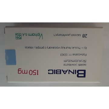 Binabic tabl. powl.(150 mg) - 28 szt.