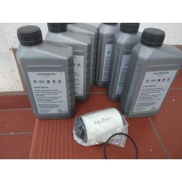 Olej i filtr do skrzyni DSG VW, AUDI, SKODA, SEAT