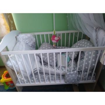 Sprzedam łóżeczko dziecięce ze wszystkimi akcesori