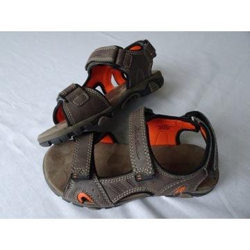 Sandały chłopięce Eddie Bauer,eu 35,wkładka 22 cm