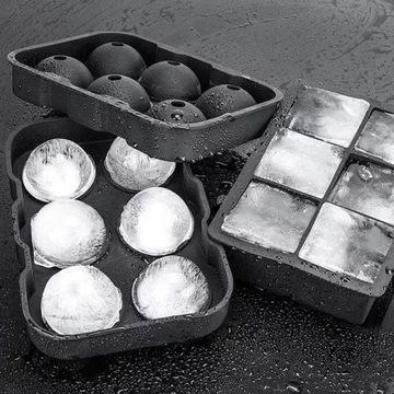Forma do lodów w kształcie kuli