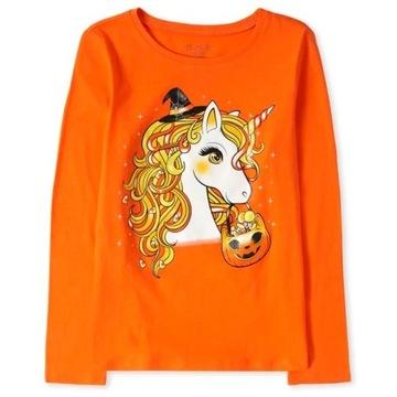 Childrens Place bluzeczka Halloween 7-8lat