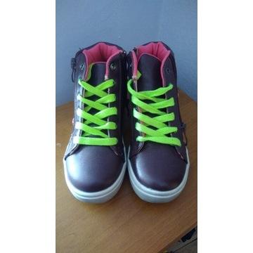 Buty dziewczęce rozmiar 29