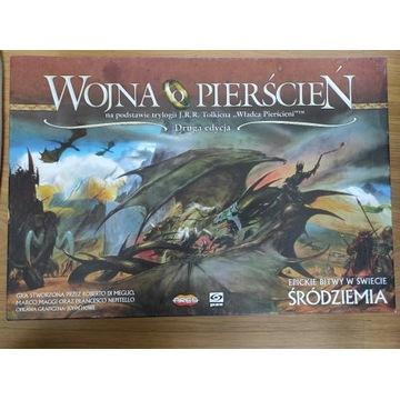 Wojna o Pierścień gra planszowa 2 edycja