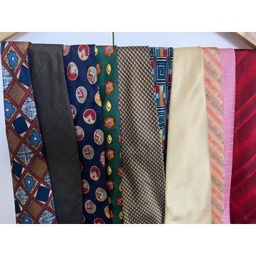 rozne krawaty, okolo 10 sztuk