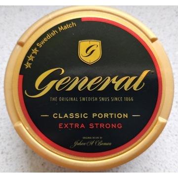Kolekcja Snus GENERAL classic extra strong
