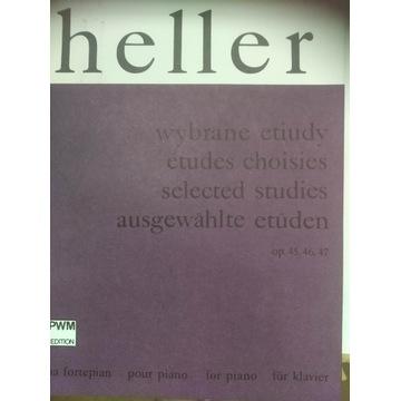 Riegerowie Heller wybrane etiudy na fortepian nuty