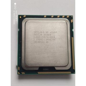 Xeon W3680 jak I7-980X,6rdzeni, 12 wątków, lga1366
