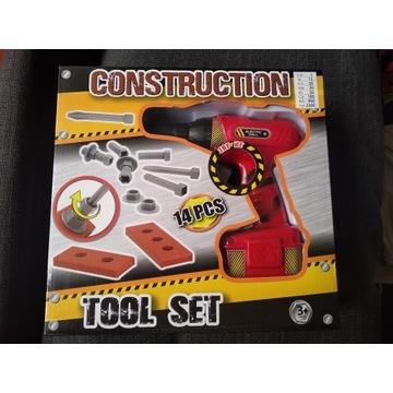 Zestaw narzędzi wkrętarka CONSTRUCTION TOOL SET