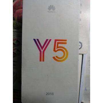 Telefon Huawei Y5 2018 Nowy Folia Dual Sim