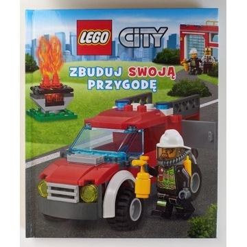 LEGO City: Zbuduj swoją przygodę Książka jak Nowa