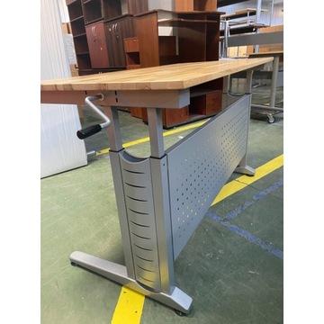 Biurka z regulowana wysokością  od 70 cm do 110 cm