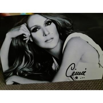 Oryginalny autograf Celine Dion