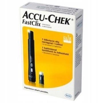 Accu-Chek Fastclix nakłuwacz NOWY
