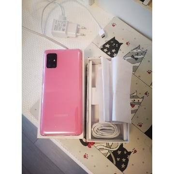 Samsung A51 5G Pink Różowy Jak Nowy