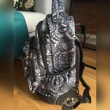 Plecak szkolny na kółkach CoolPack BLACK LACE