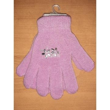 Nowe damskie dziewczynki rękawiczki 17 18 cm S
