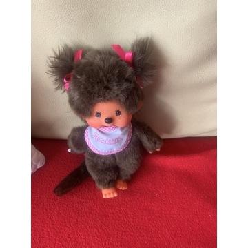 Małpka dziewczynka Monchhichi unikat