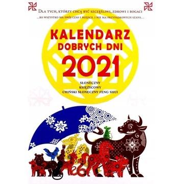 Kalendarz dobrych dni 2021