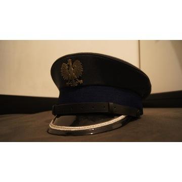Czapka młodszego oficera służby więziennej r.56