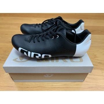 Giro Empire ACC Buty szosowe 43.5, black/white