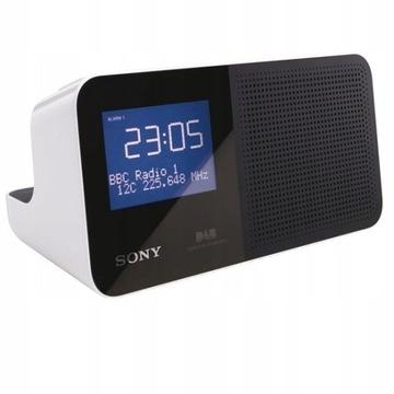 Radiobudzik Sony XDR-C706DBP, FM, DAB+ nowy 430zł