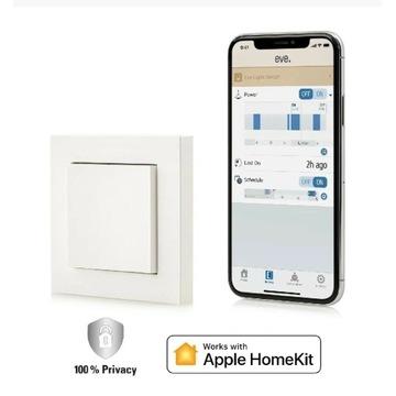 Eve Light Switch Smart HomeKIT przełącznik ścienny