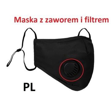 Maska ochronna Daily + filtr PM2.5 Wysyłka PL24h