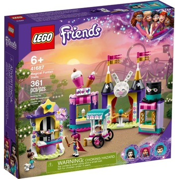 NOWE LEGO Friends 41687 Magiczne stoiska