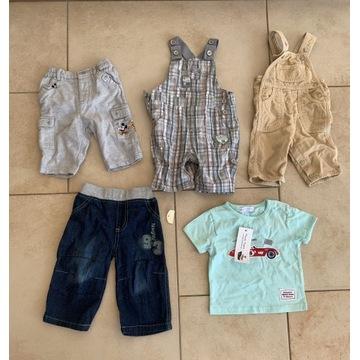 Zestaw ubranek dziecięcych, rozmiary: 54, 62 i 74