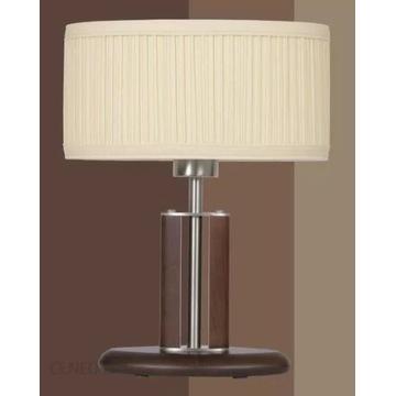 Lampa Kandela ELIPSA LG-1 drewno + stal nierdzewna