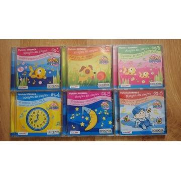 Muzyka dla smyka - komplet 6 płyt CD (dla dzieci)
