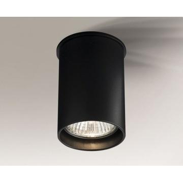 LAMPA SUFITOWA SPOT TUBA SHILO ARIDA 1109 CZARNA