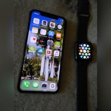IPfone X 264GB + Apple Wath series 3