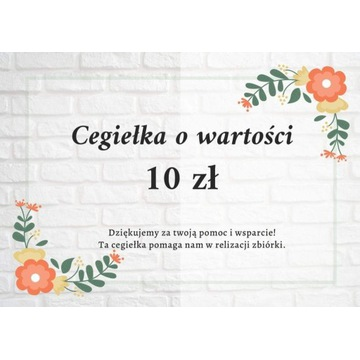 Cegiełka 10 zł