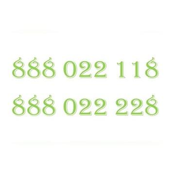 ZŁOTY NUMER HEYAH 888022118 888022228