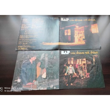 BAP zespół rockowy płyta winylowa stan EX EMI 1982