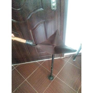 Krzesełko myśliwskie parasolka